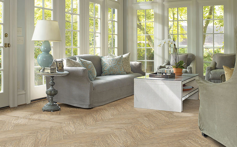 beautiful laminate in living room